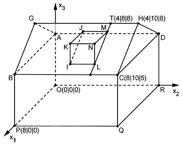 abitur mathematik abi 2014 geometrie ii teil b rmg wiki. Black Bedroom Furniture Sets. Home Design Ideas