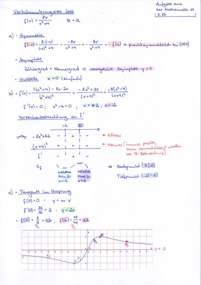 Q11 Mathematik/Lösungen Arbeitsblatt Modellieren – RMG-Wiki